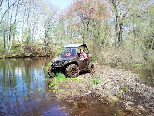 Troy uses General Purpose aid to control offroad vehicle