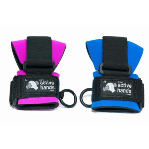 "Mini gripping aid for children - blue or pink, ""aids sold individually"". Suitable for reduced hand function: tetra, quad, cerebral palsy, SCI, spinal cord injury, stroke and more."