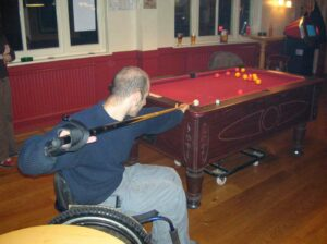 For more relaxing activities use the General Purpose aid for playing pool.