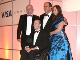 Rob at Entrepreneur awards