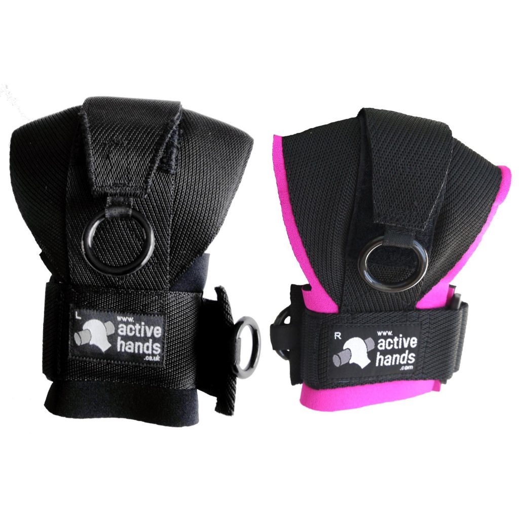 The General Purpose aid in pink and black. - The Active Hands Company