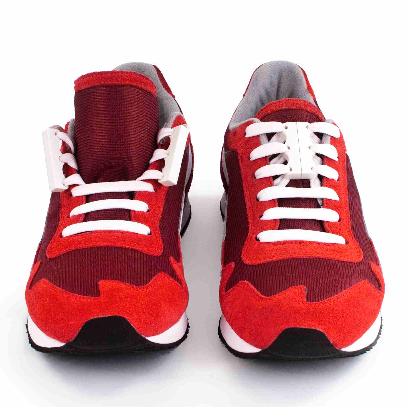 Zubits Brown On Red Shoes
