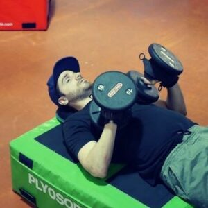 Ben from Adapt to Perform working out