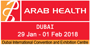Arab Health 2018 logo