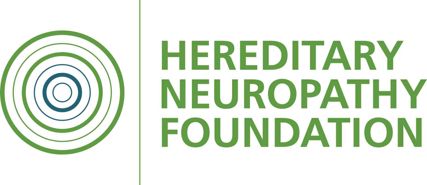 Hereditary Neuropathy foundation logo