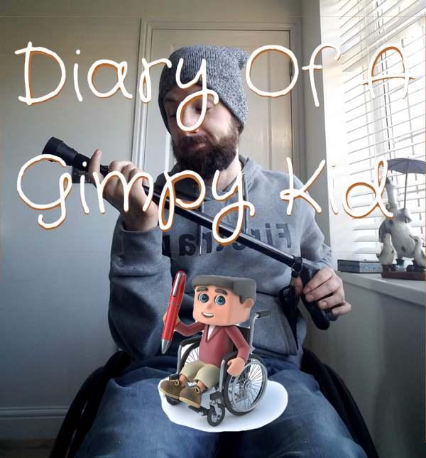Diary of a Gimpy Kid logo
