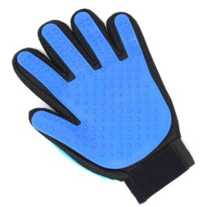 Grooming glove for your pet - great if you can't hold a brush