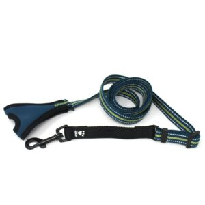 No-grip dog lead. Suitable for reduced hand function: tetra, quad, cerebral palsy, SCI, spinal cord injury, stroke and more.
