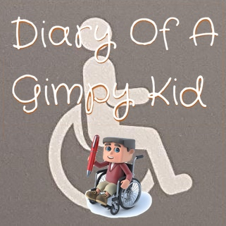 Diary of a Gimpy Kid blog logo