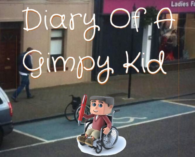 Diary of a Gimpy Kid entry