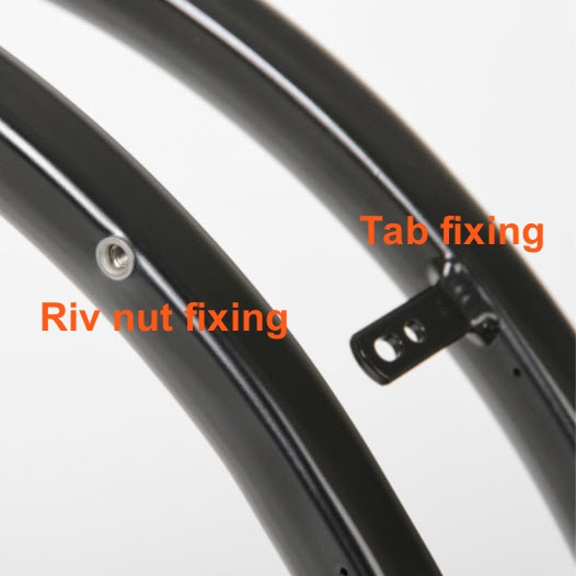 image of tab and riv nut fixings