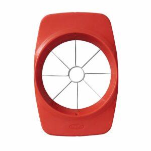 trancheuse à pommes, utilisation facile, pousser vers le bas. Équipement de cuisine adaptatif.