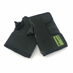 push gloves black design