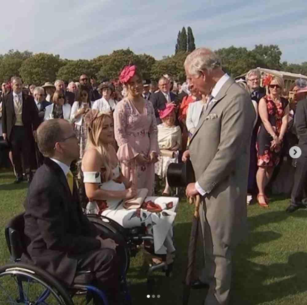 Helen meets Prince Charles
