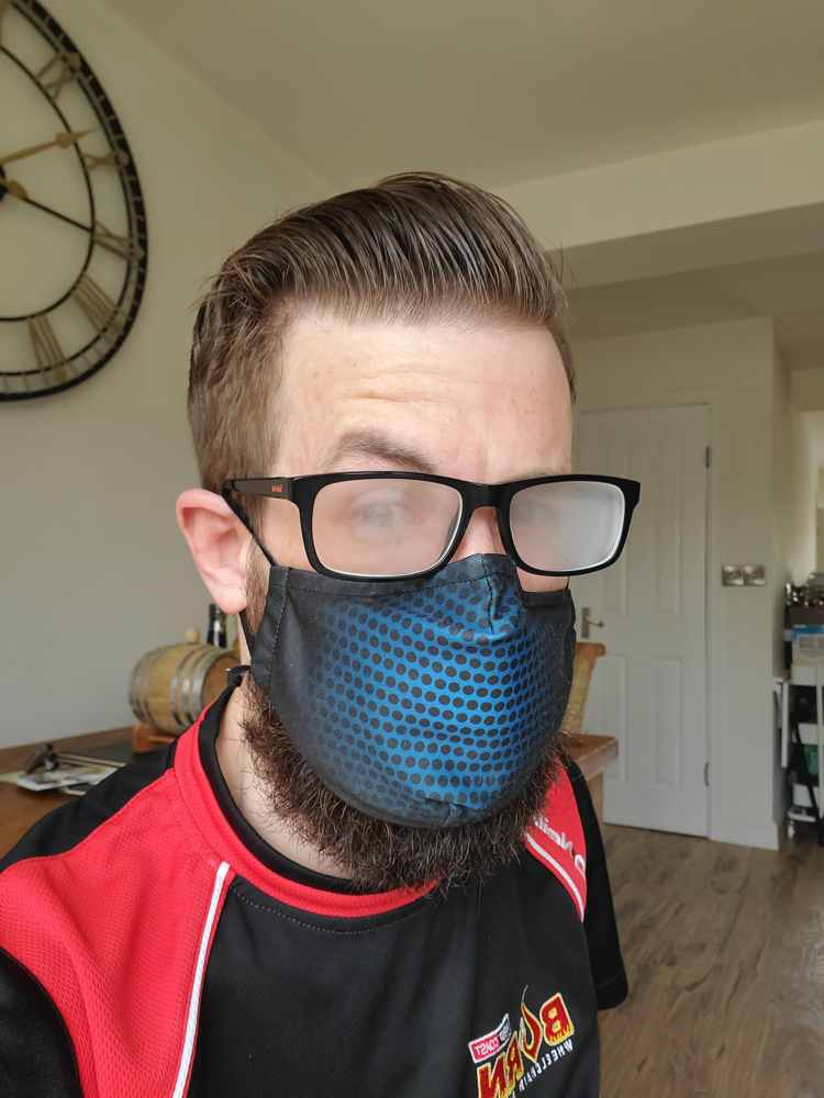 The problem of masks and glasses is they steam up