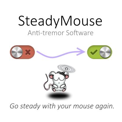 El nuevo SteadyMouse te ayuda a usar el ratón a pesar de las manos temblorosas o los temblores.