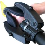 to help your hands fold around use two kayak hand attachments