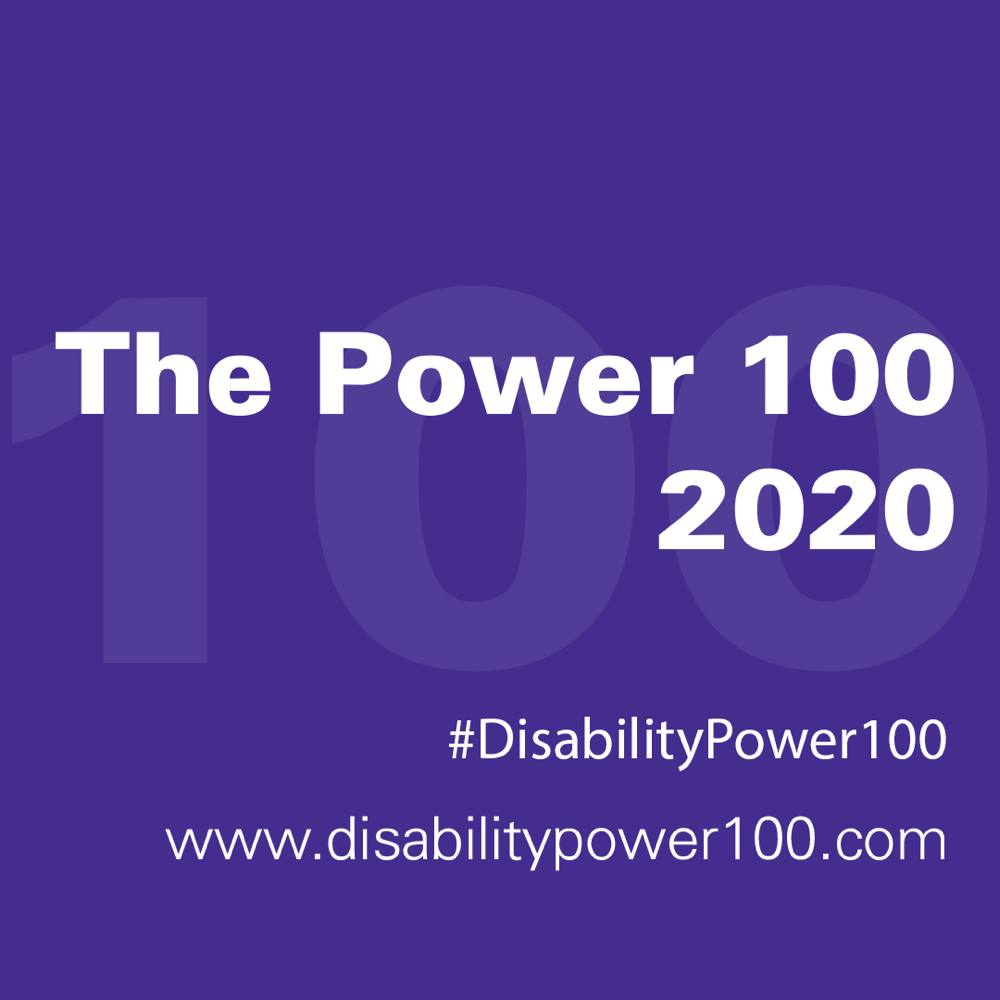 Power 100 winner 2020