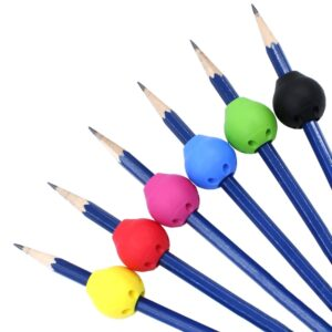 the butter or ball pencil grip comes in six colours