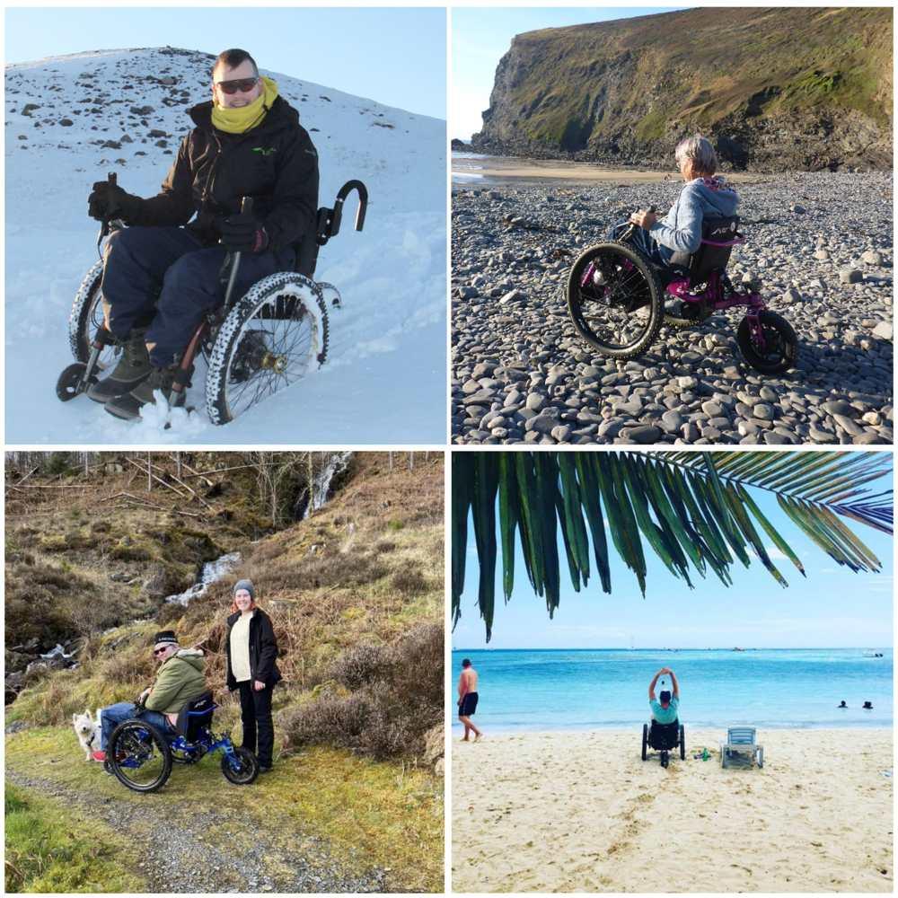 Mountain Trikes allow you to explore in the wild.
