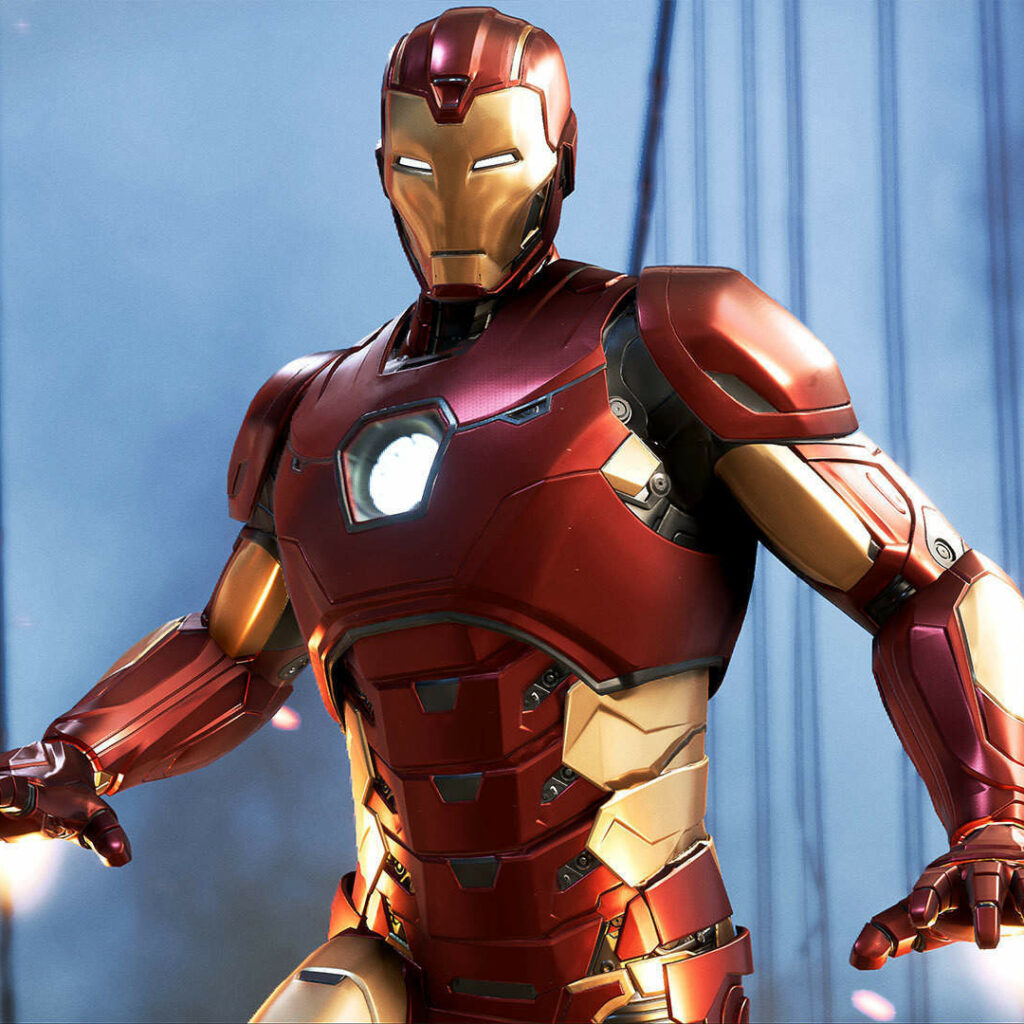 iron man from the marvel franchise