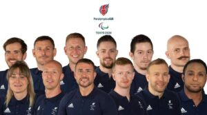 The wheelchair rugby team for the 2020 Paralympics