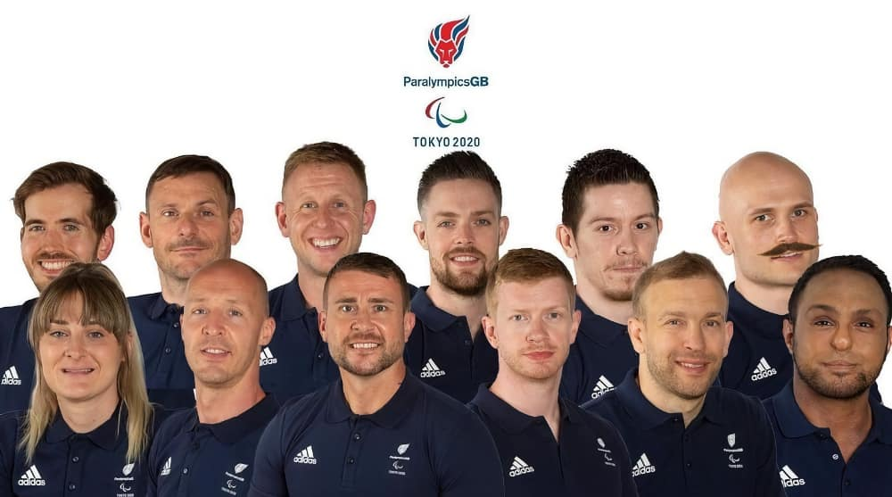 The 2021 GB Wheelchair rugby Paralympics team