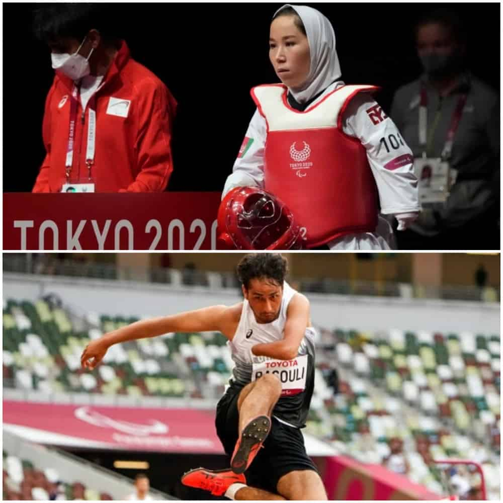 The Afghan Paralympians were rescued from Kabul to participate in the games