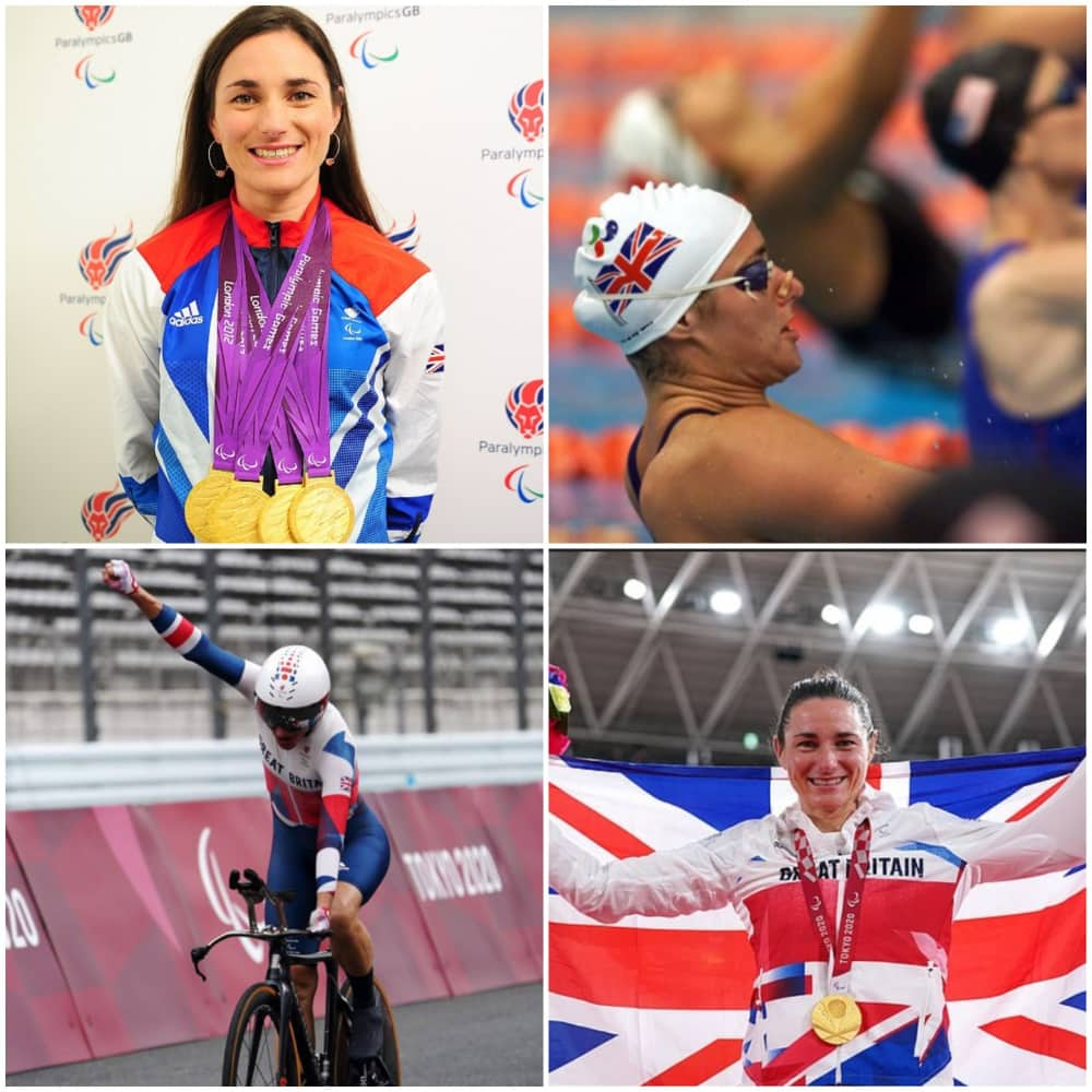 Sarah Storey has won 28 medals in her Paralympic career